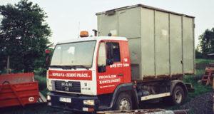 Odklízení suti a odpadu ze stavby vám ulehčí kontejnerová doprava